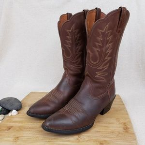 Ariat Heritage R-Toe Women's Brown Boots 7.5